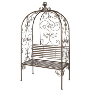 Kelim Wrought Iron - Arched Bench